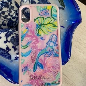 iPhone X, Lilly Pulitzer color coded chic case!